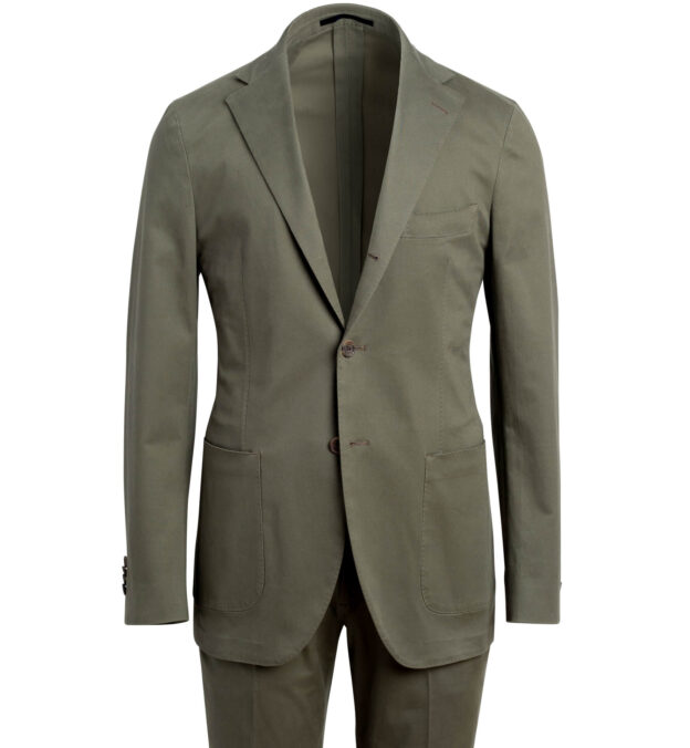 Waverly Fatigue Stretch Cotton Suit