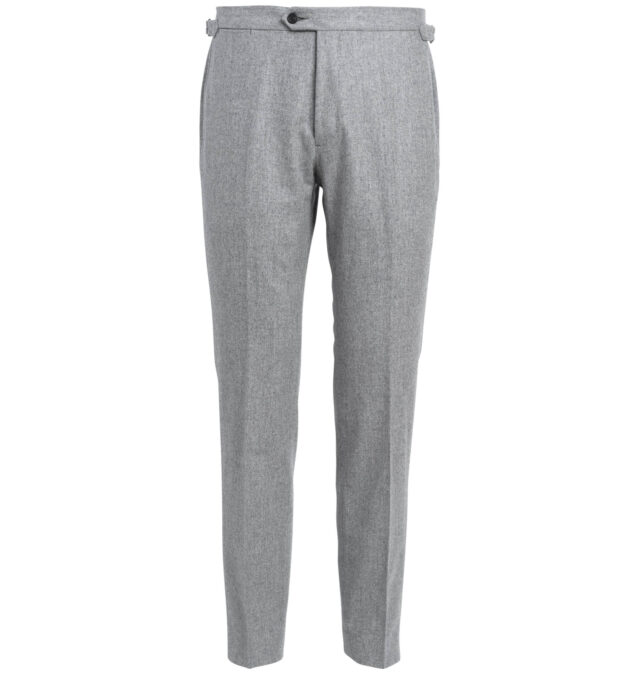 Allen Light Grey Flannel Trouser