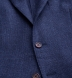 Zoom Thumb Image 2 of Hudson Navy Basketweave Wool Flannel Jacket