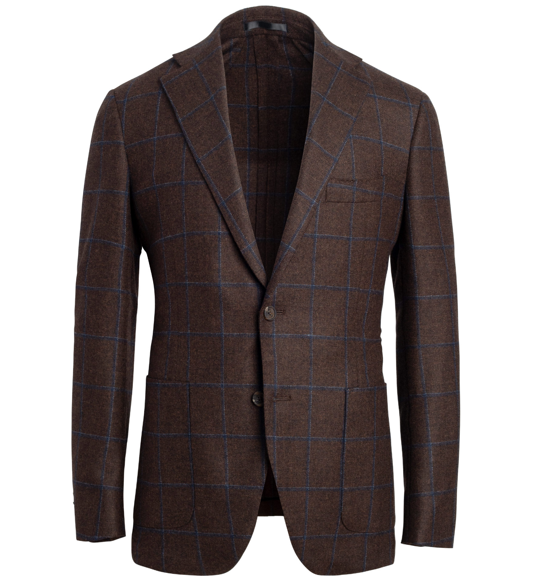 Zoom Image of Bedford Rust Windowpane Jacket