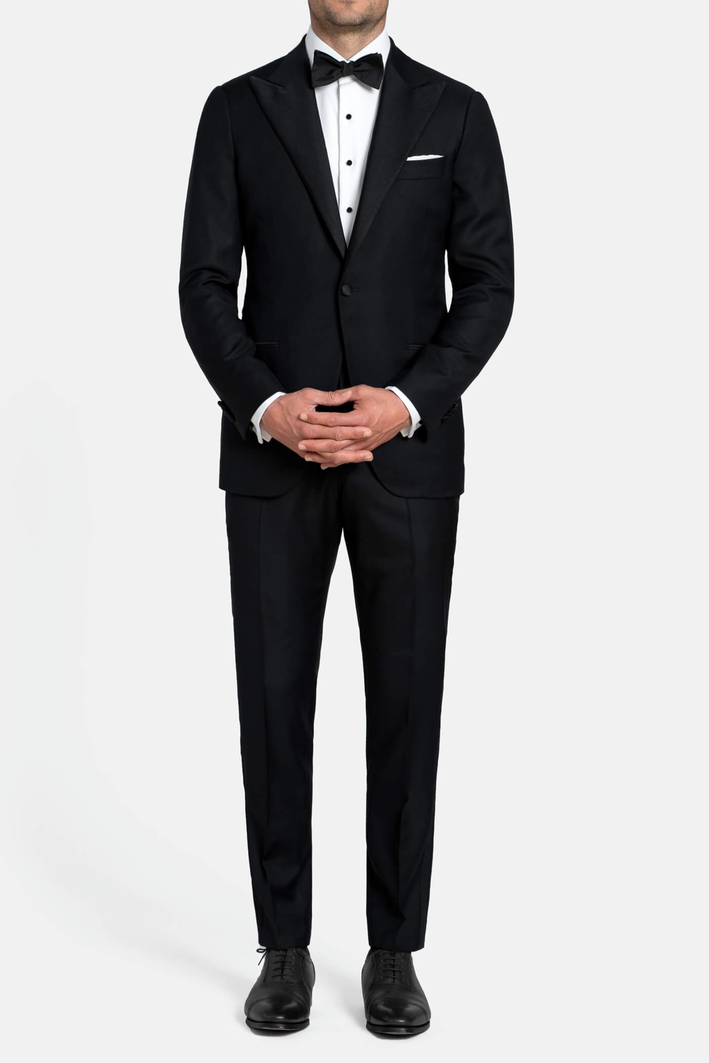 Mayfair Black Wool Tuxedo