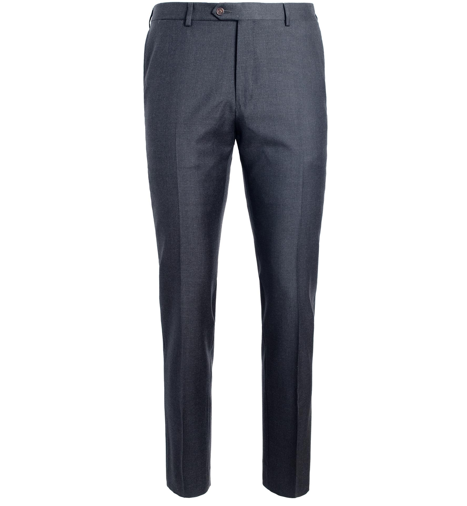 Zoom Image of Allen VBC Grey S110s Wool Trouser