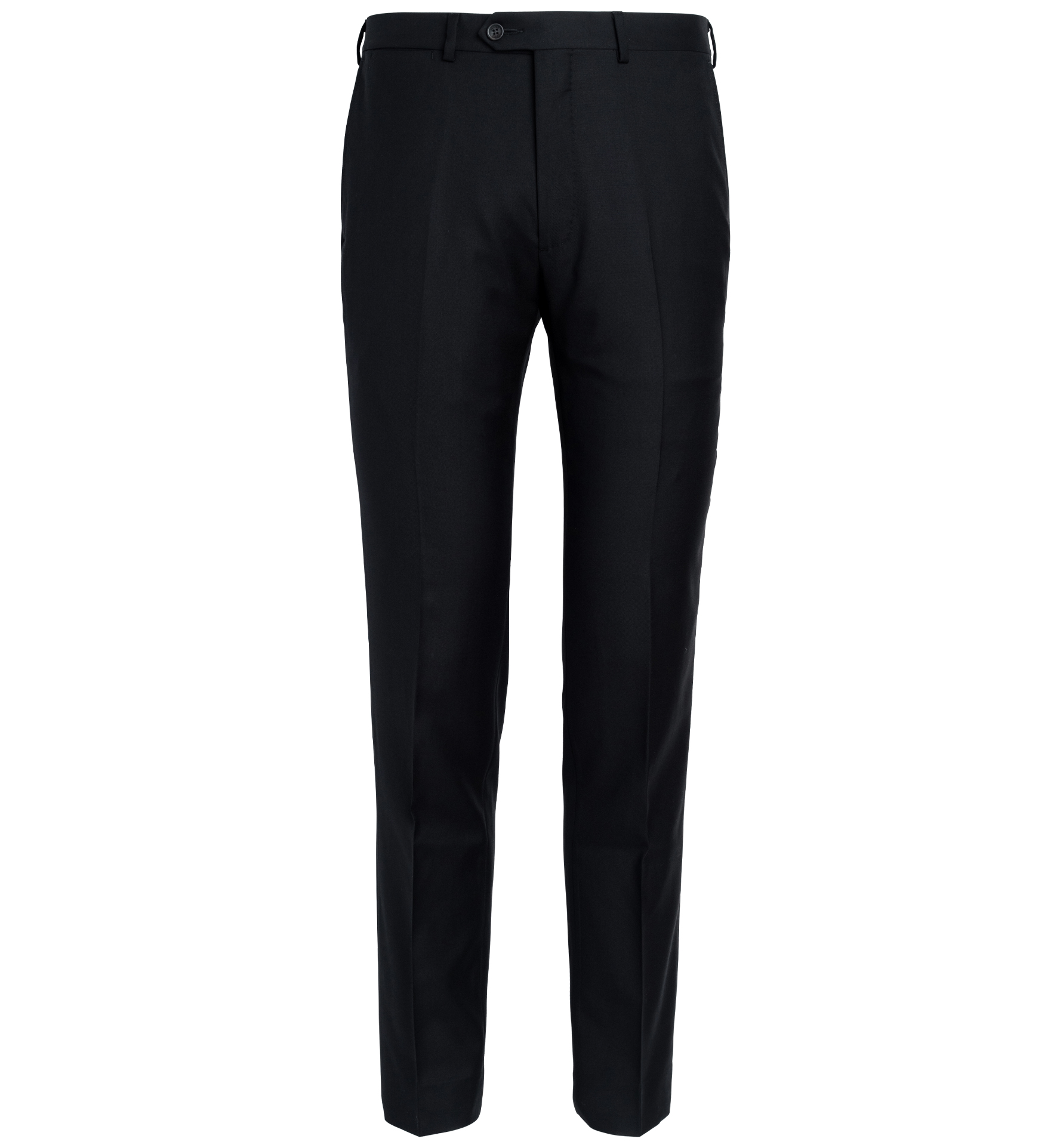 Zoom Image of Allen Black S110s Wool Trouser
