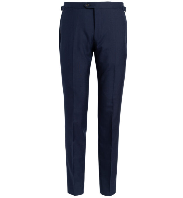Allen Navy Tropical Wool Fresco Trouser