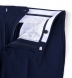 Zoom Thumb Image 10 of Allen Navy Fresco Suit with Cuffed Trouser