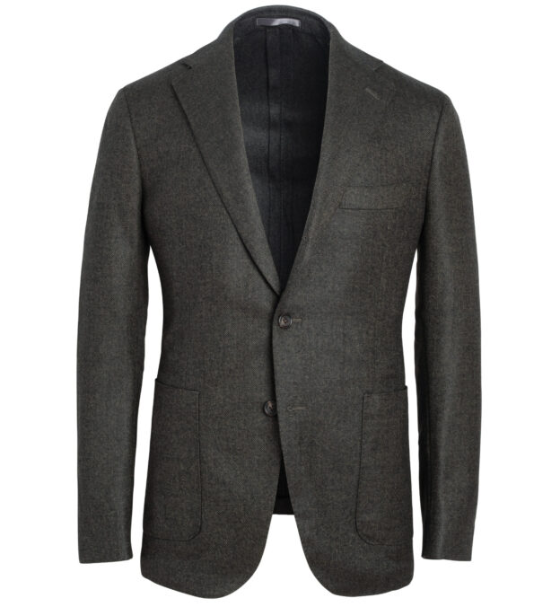 Bedford Pine Wool Herringbone Jacket