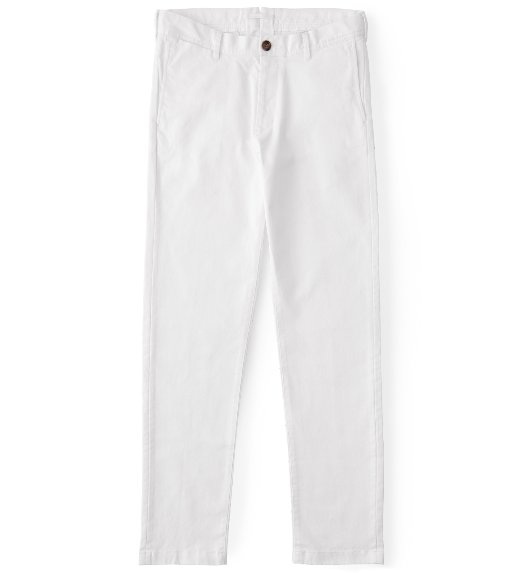 Zoom Image of Bowery White Stretch Heavy Cotton Chino