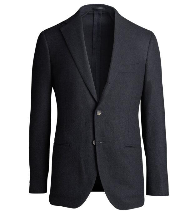 Bedford Black Wool and Silk Jacket