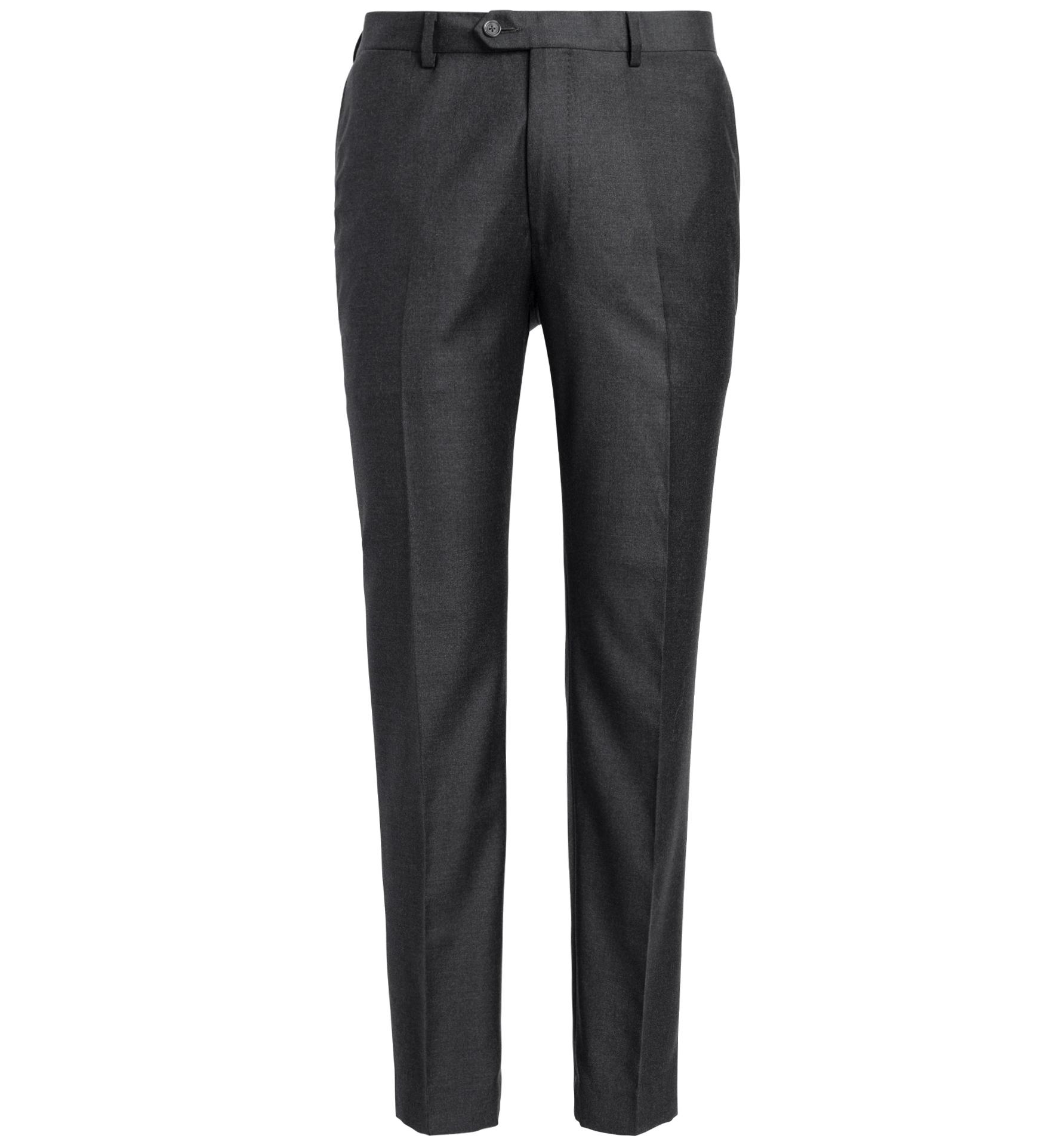 Zoom Image of Allen Grey S130s Wool Trouser