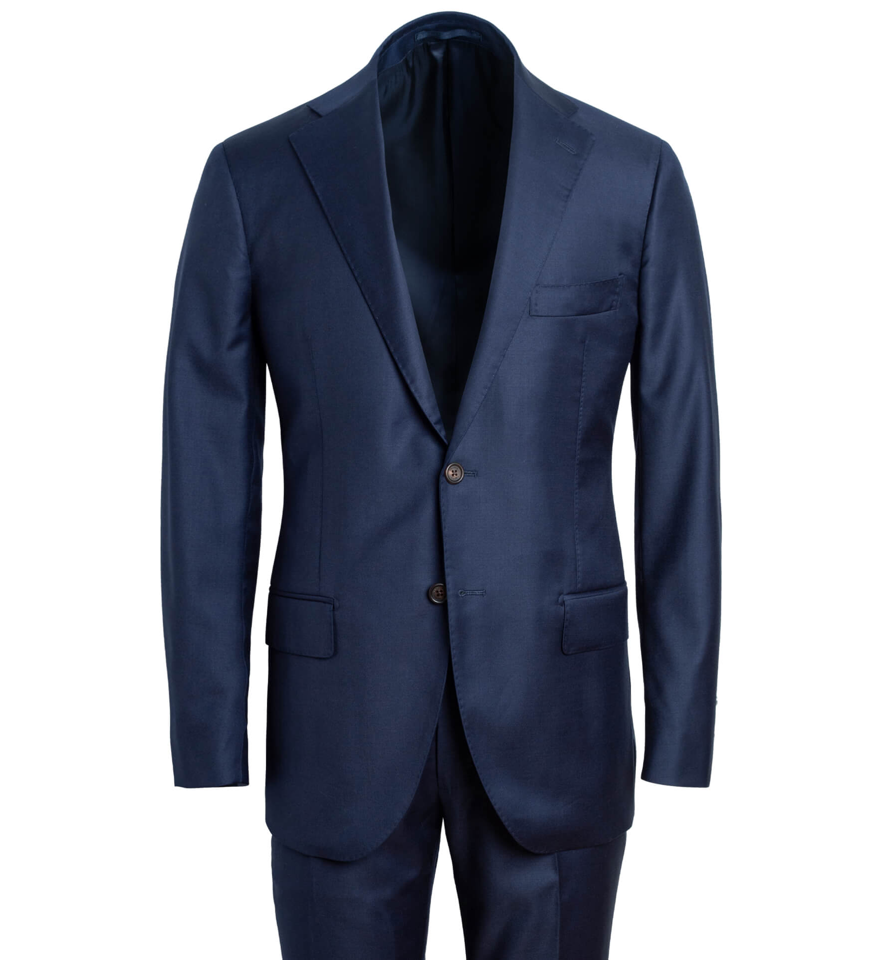 Zoom Image of Allen Navy Wool Suit