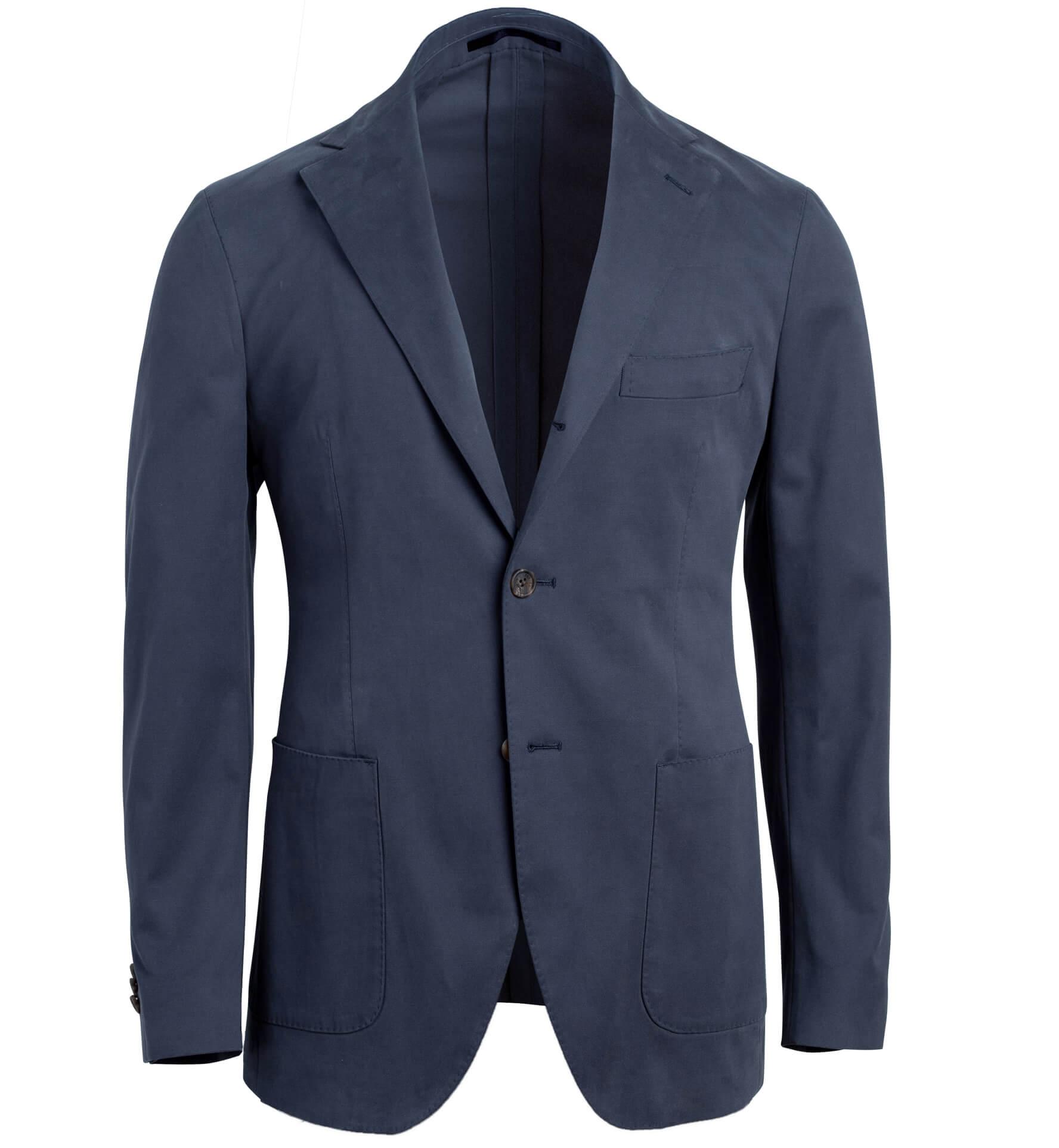 Zoom Image of Waverly Navy Stretch Cotton Jacket