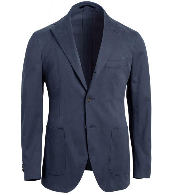 Waverly Navy Stretch Cotton Jacket