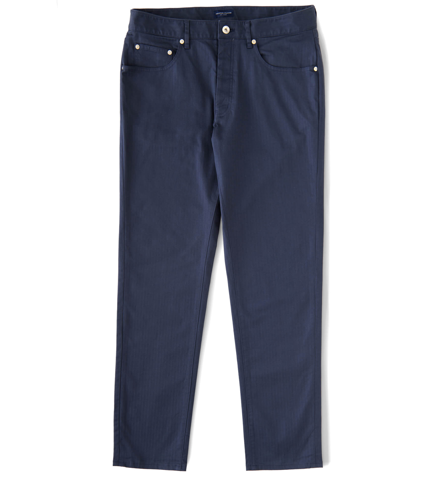 Zoom Image of Sullivan Navy Herringbone Pant