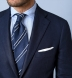 Zoom Thumb Image 5 of Bedford Navy Irish Linen Suit