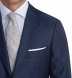 Zoom Thumb Image 2 of Allen Blue S110s Sharkskin Suit with Cuffed Trouser