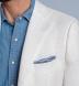 Zoom Thumb Image 5 of Bedford White Irish Linen Jacket