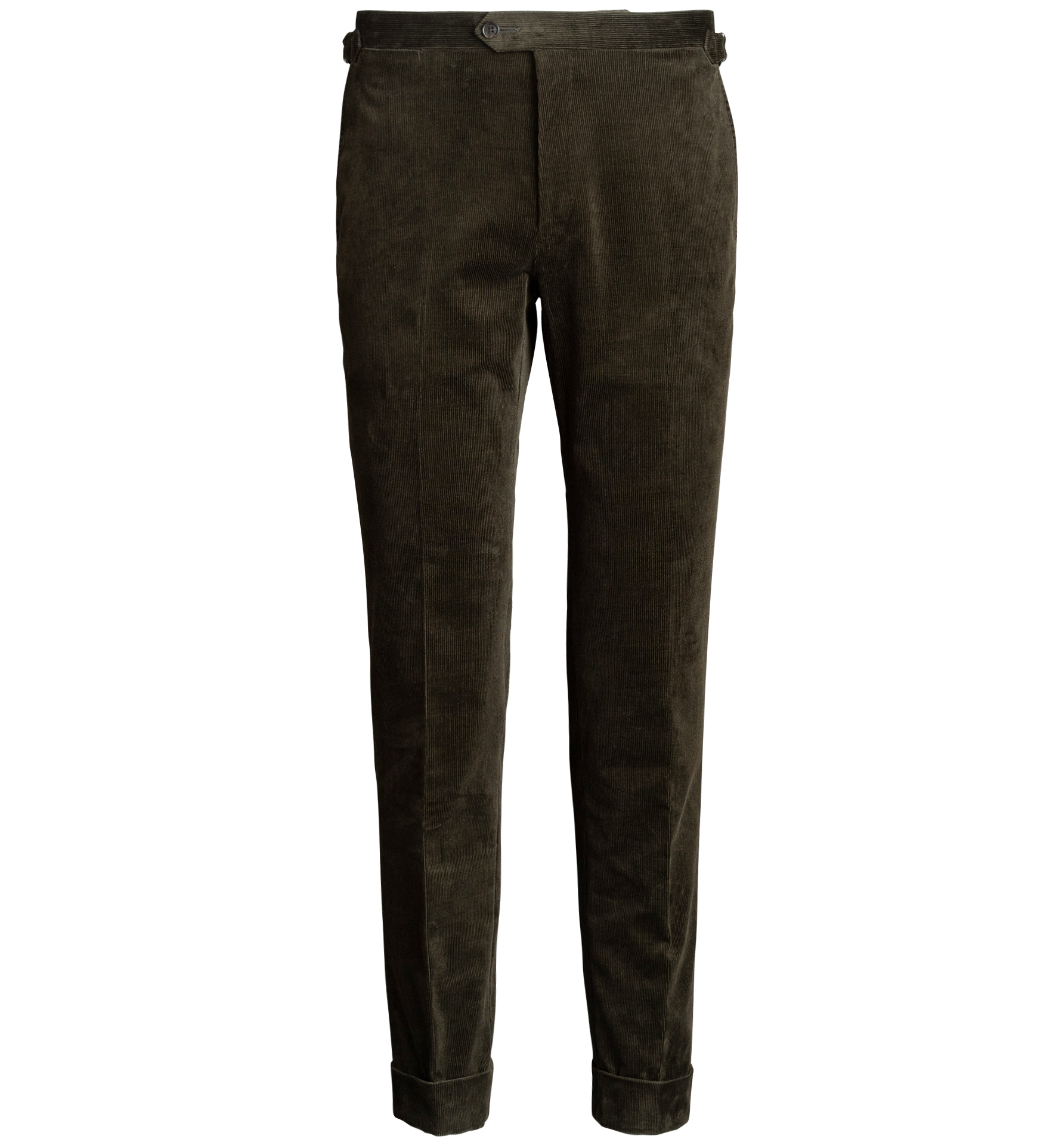 Zoom Image of Allen Pine Stretch Corduroy Trousers