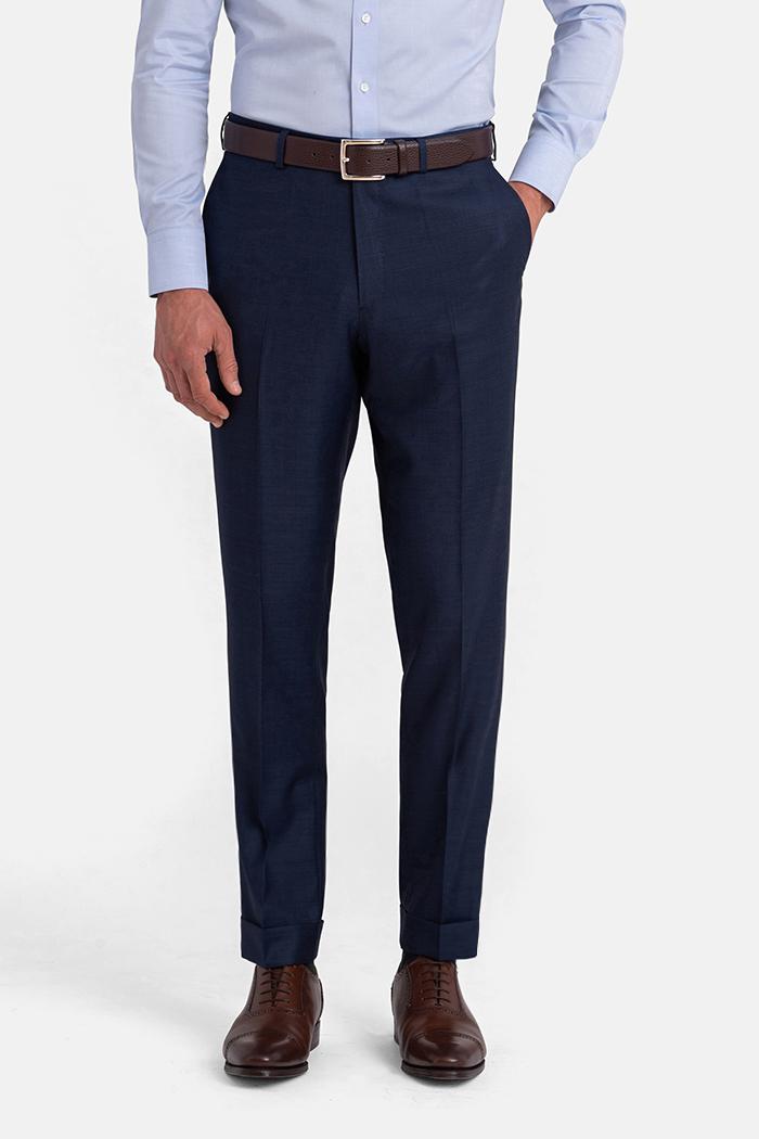 Allen Blue S110s Sharkskin Trouser