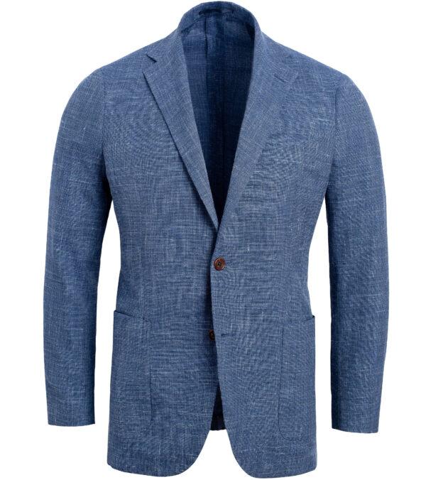 Bedford Faded Blue Melange Summer Blend Jacket