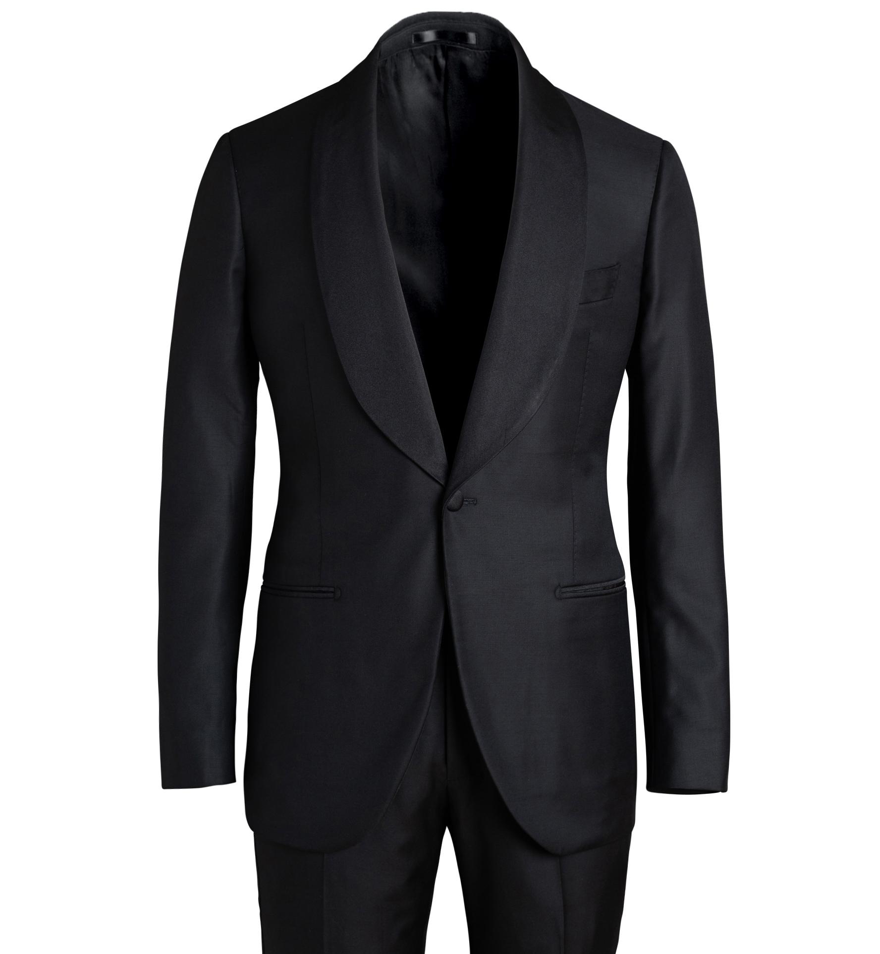 Zoom Image of Mayfair Black Shawl Lapel Tuxedo