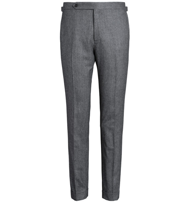 Allen Grey Houndstooth Flannel Trouser