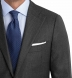 Zoom Thumb Image 1 of Allen Grey S110s Nailhead Suit Jacket