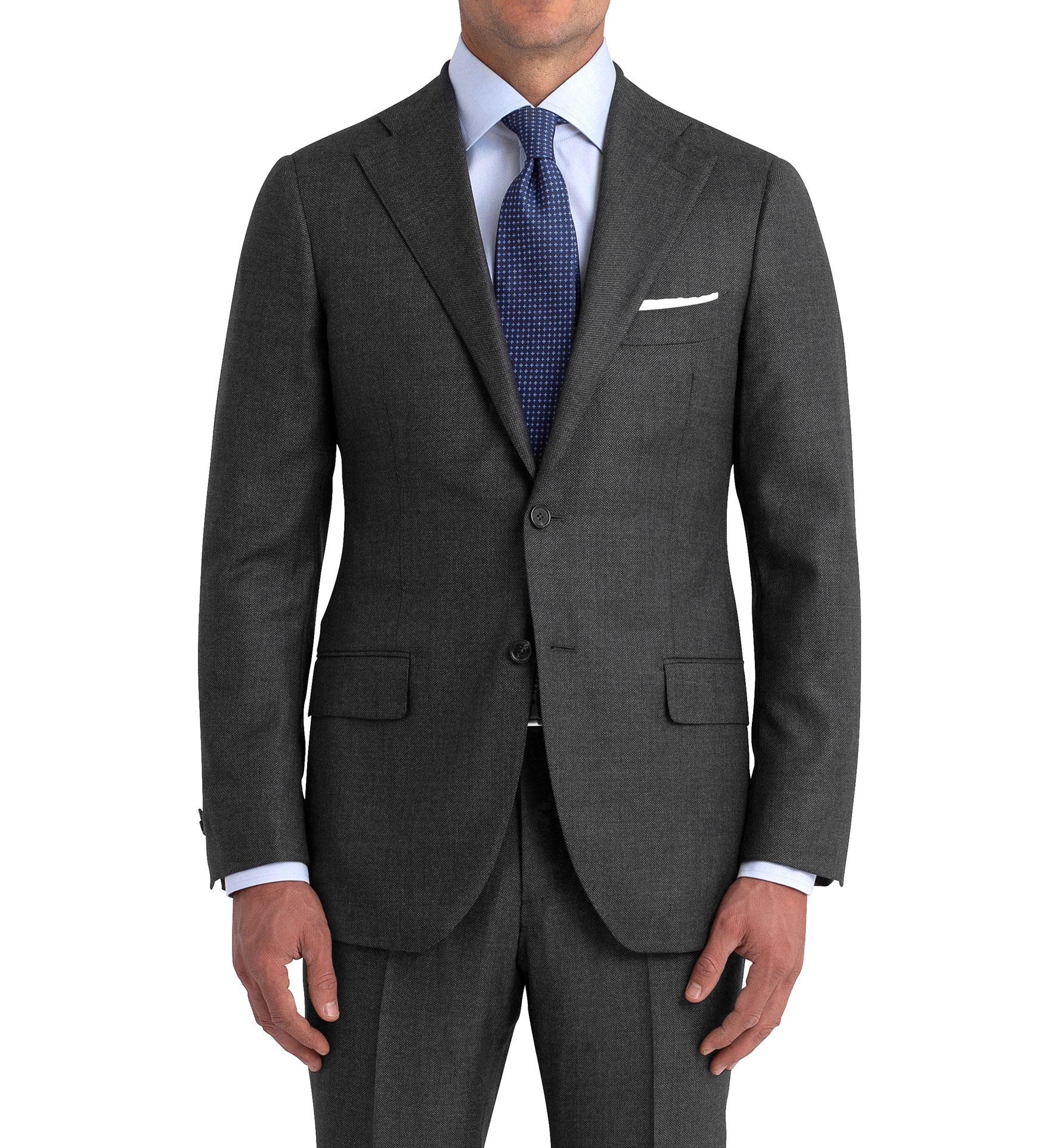 Zoom Image of Allen Grey S110s Nailhead Suit Jacket