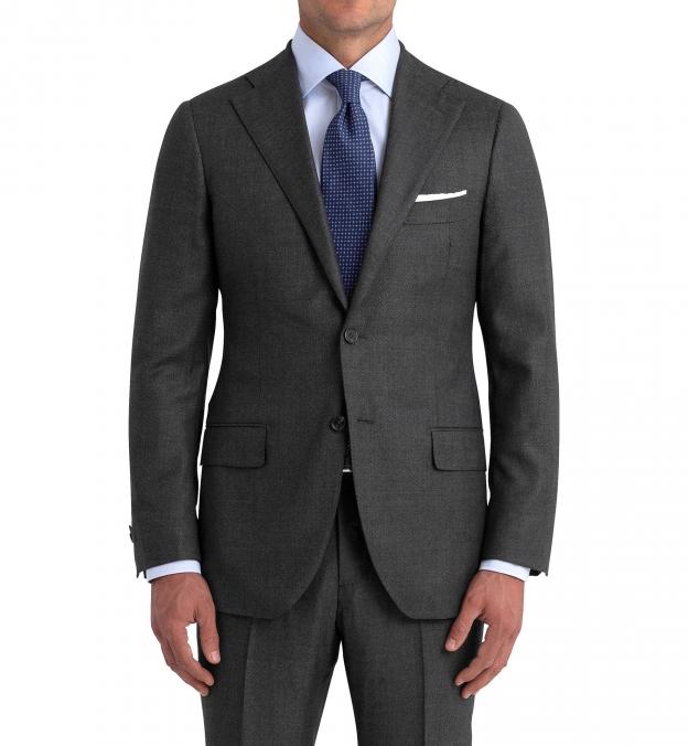 Allen Grey S110s Nailhead Suit Jacket