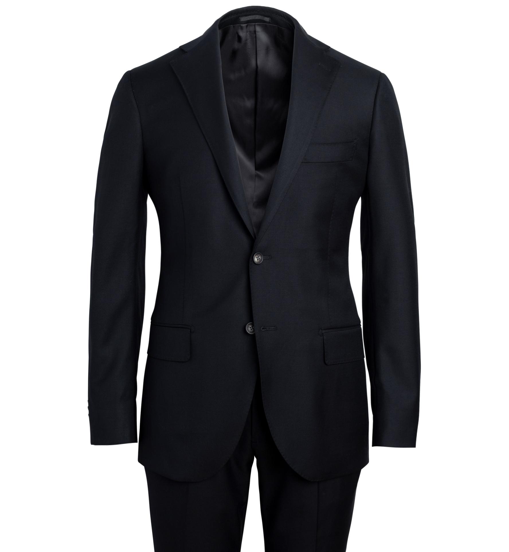 Zoom Image of Allen Black S110s Wool Suit