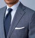 Zoom Thumb Image 4 of Allen Light Slate S130s Windowpane Suit