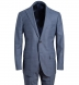 Zoom Thumb Image 1 of Allen Light Slate S130s Windowpane Suit