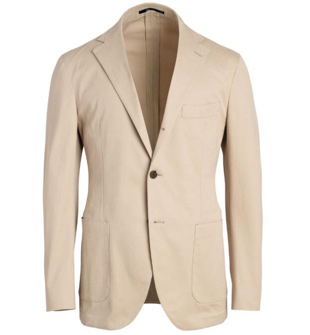 Waverly Beige Stretch Cotton Jacket