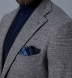 Zoom Thumb Image 3 of Bedford Grey Glen Plaid Wool Boucle Jacket