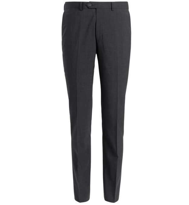 Allen Charcoal Stretch Tropical Wool Trouser