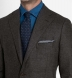 Zoom Thumb Image 1 of Bedford Chestnut Glen Plaid Lightweight Wool Jacket