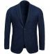 Zoom Thumb Image 1 of Bedford Navy Melange Slub Wool Flannel Jacket
