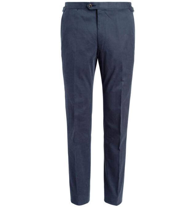 Allen Navy Stretch Cotton Trouser