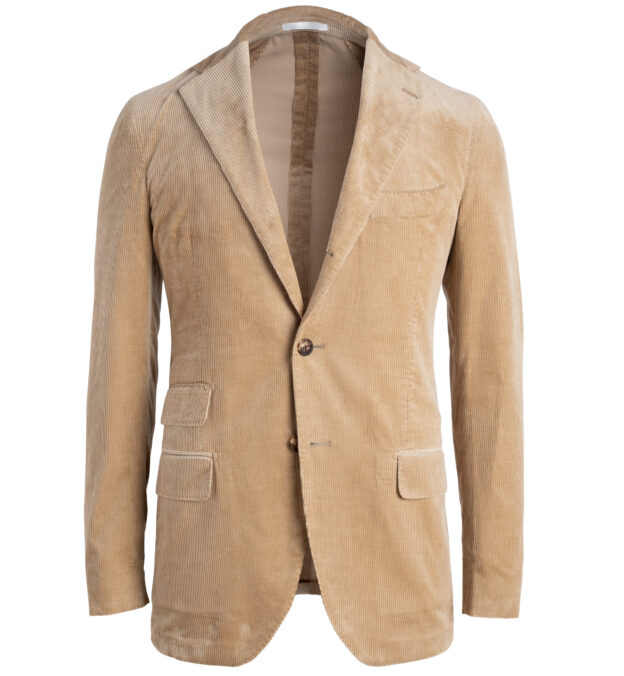 Waverly Camel Lightweight Supima Corduroy Jacket