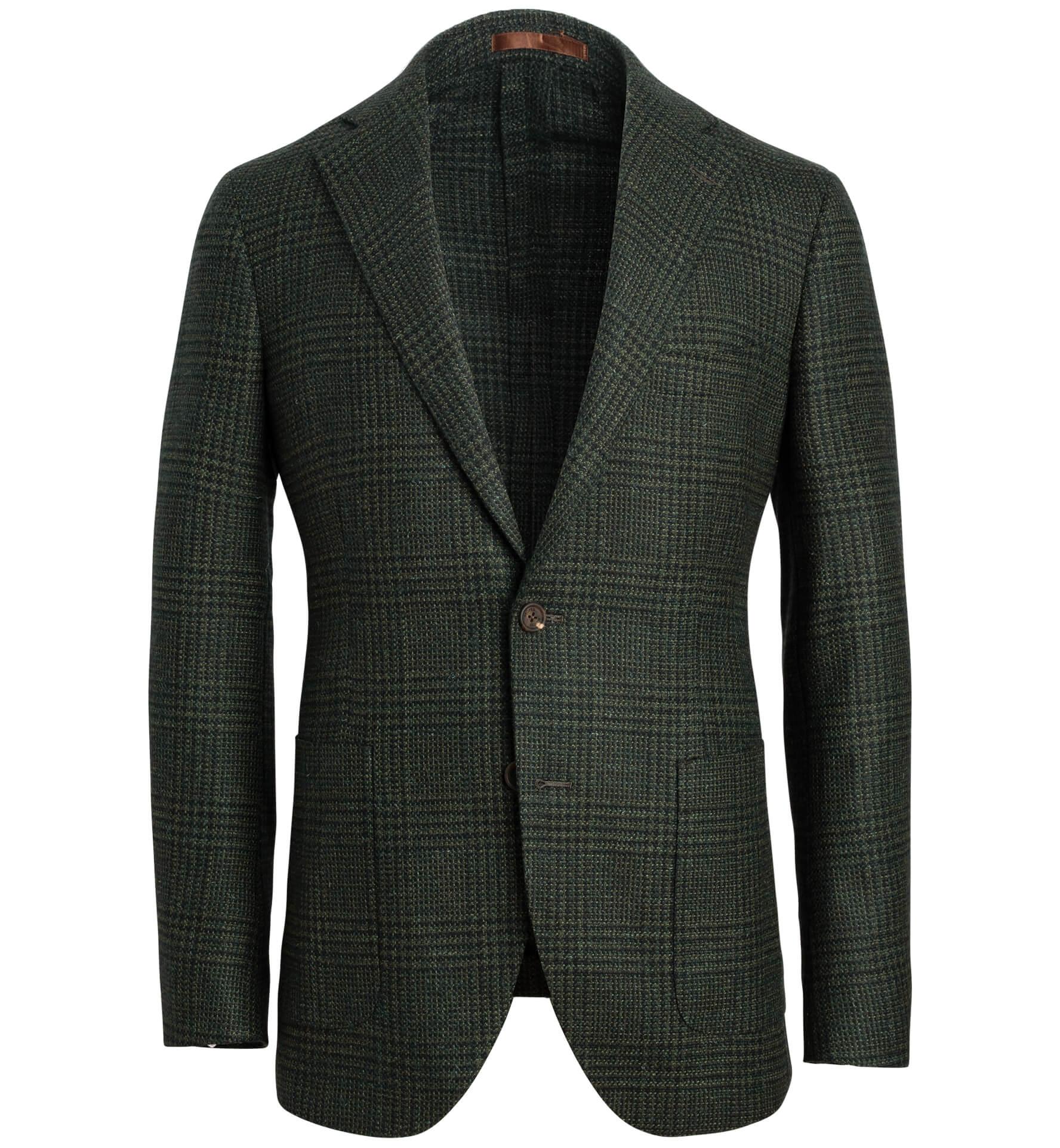 Zoom Image of Bedford Pine Glen Plaid Wool and Alpaca Jacket