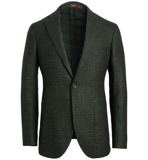 Bedford Pine Glen Plaid Wool and Alpaca Jacket