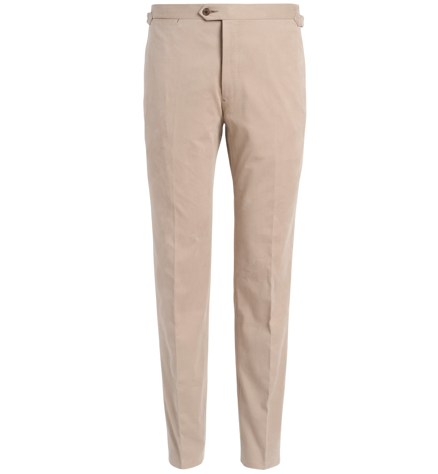 Zoom Image of Allen Beige Shaved Cotton Trouser