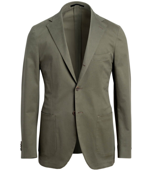 Waverly Fatigue Stretch Cotton Jacket