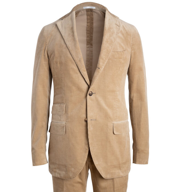 Waverly Camel Lightweight Supima Corduroy Suit