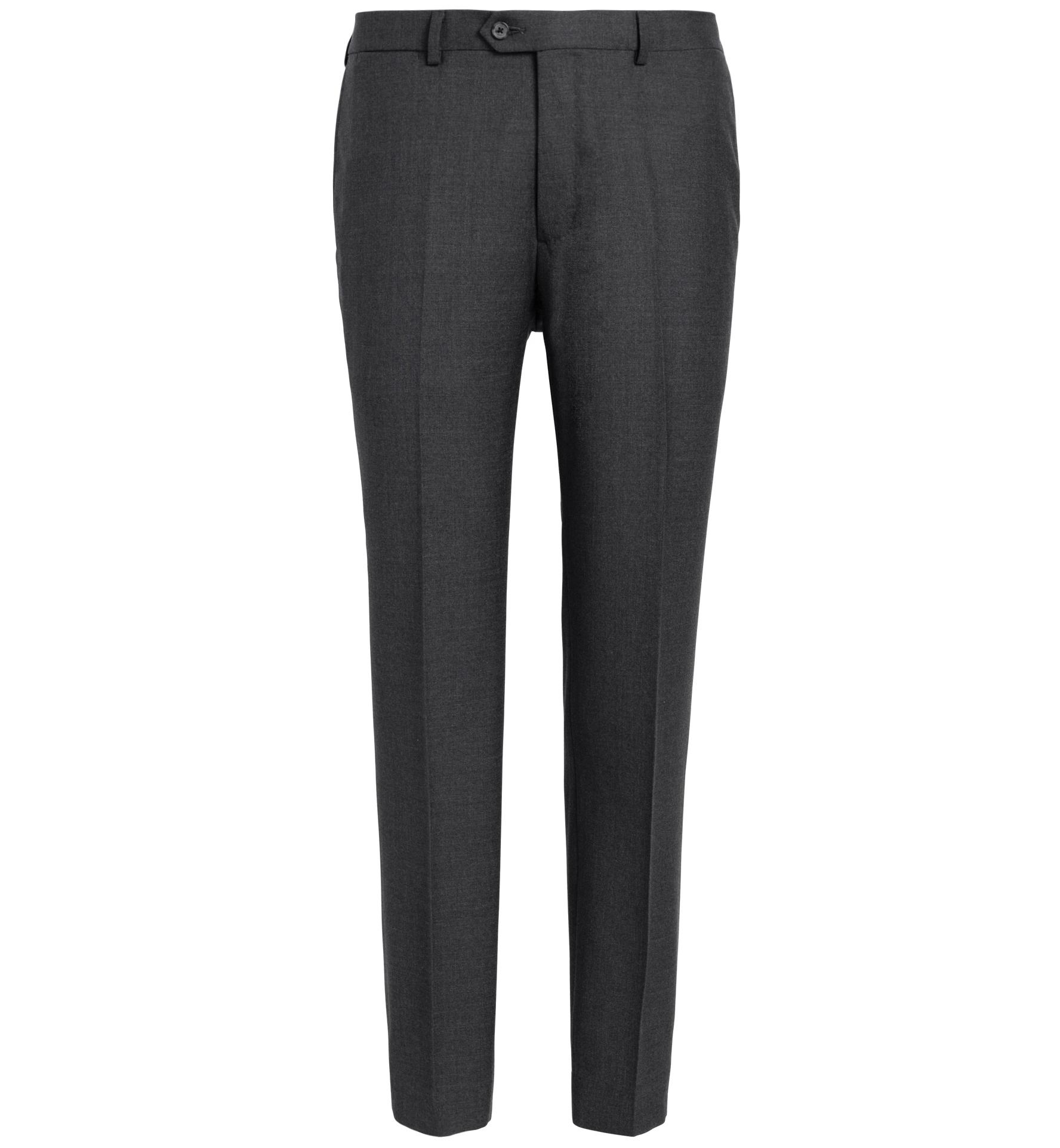 Zoom Image of Allen Charcoal Comfort Fresco Trouser