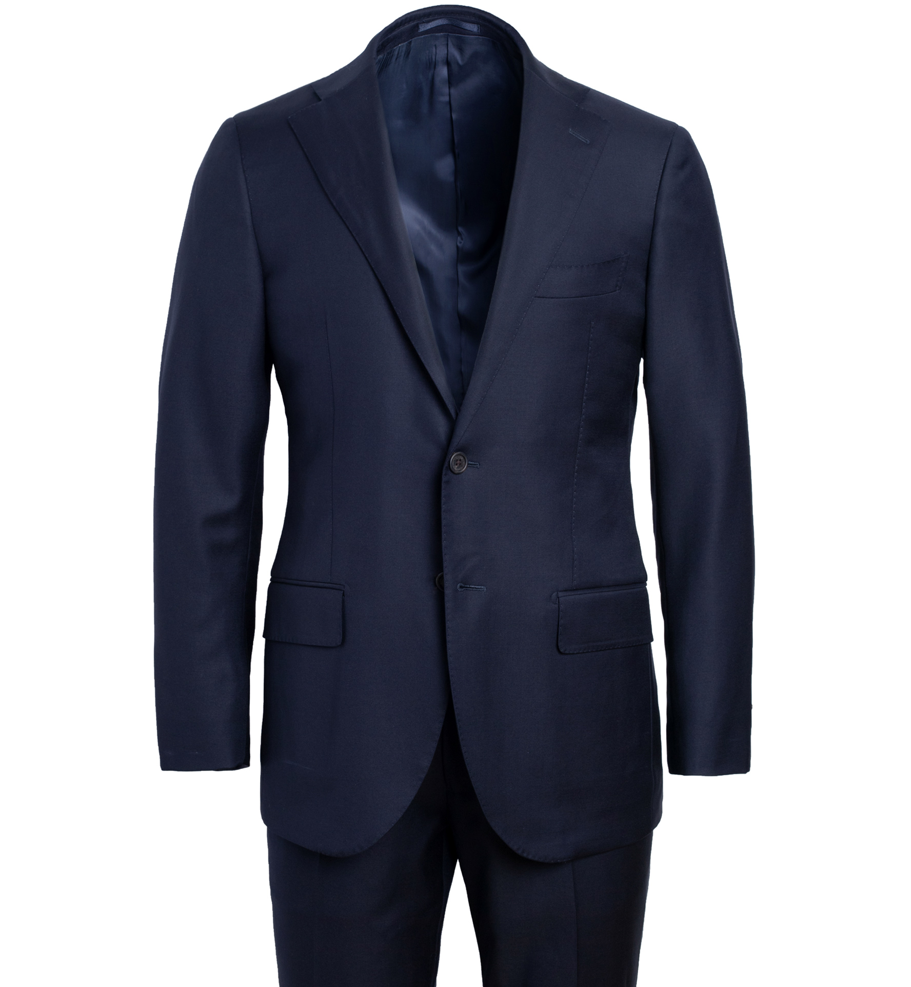 Zoom Image of Allen VBC Navy S110s Wool Suit