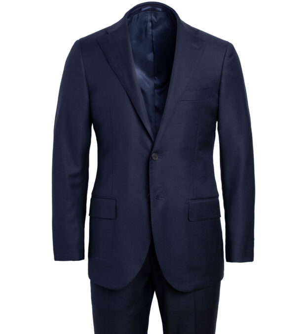 Allen VBC Navy S110s Wool Suit