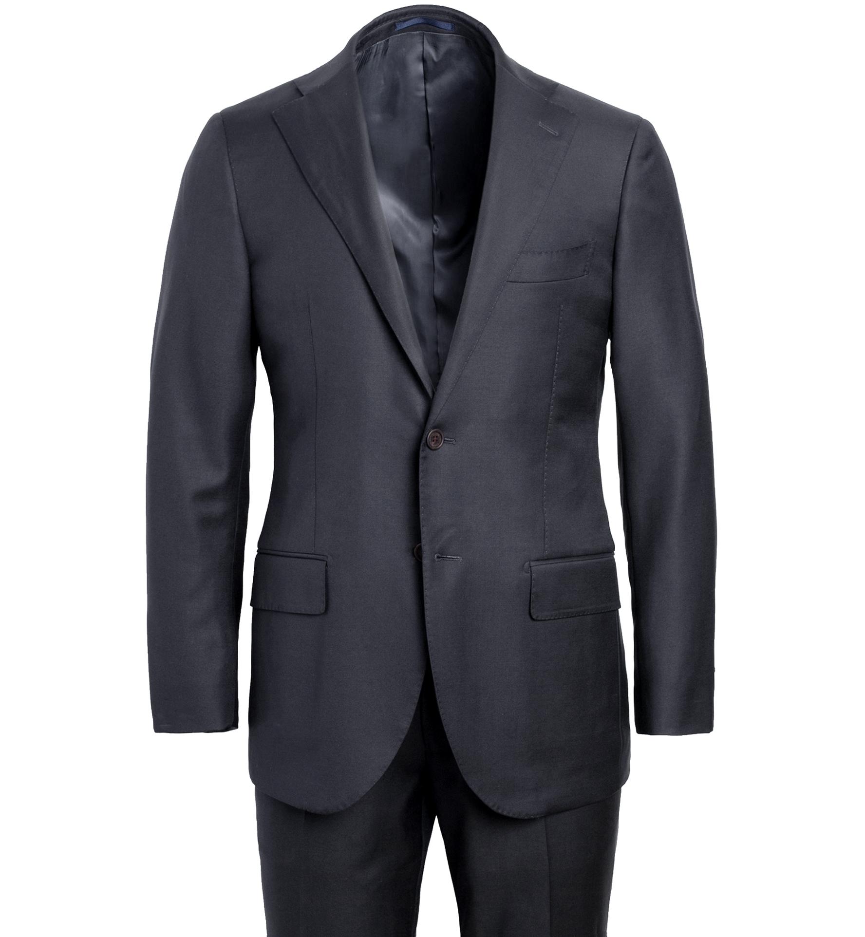 Zoom Image of Allen VBC Grey S110s Wool Suit