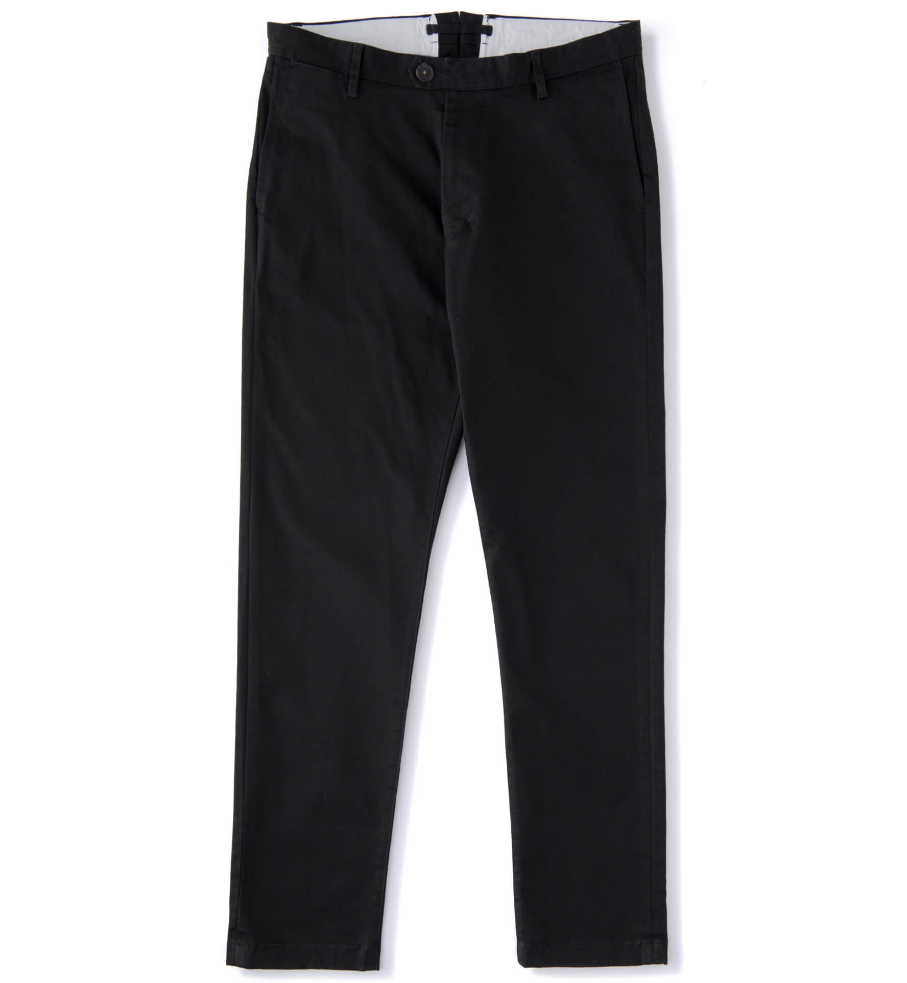 Zoom Image of Bowery Black Stretch Heavy Cotton Chino