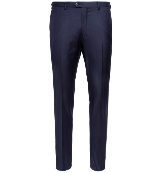 Allen VBC Navy S110s Wool Trouser