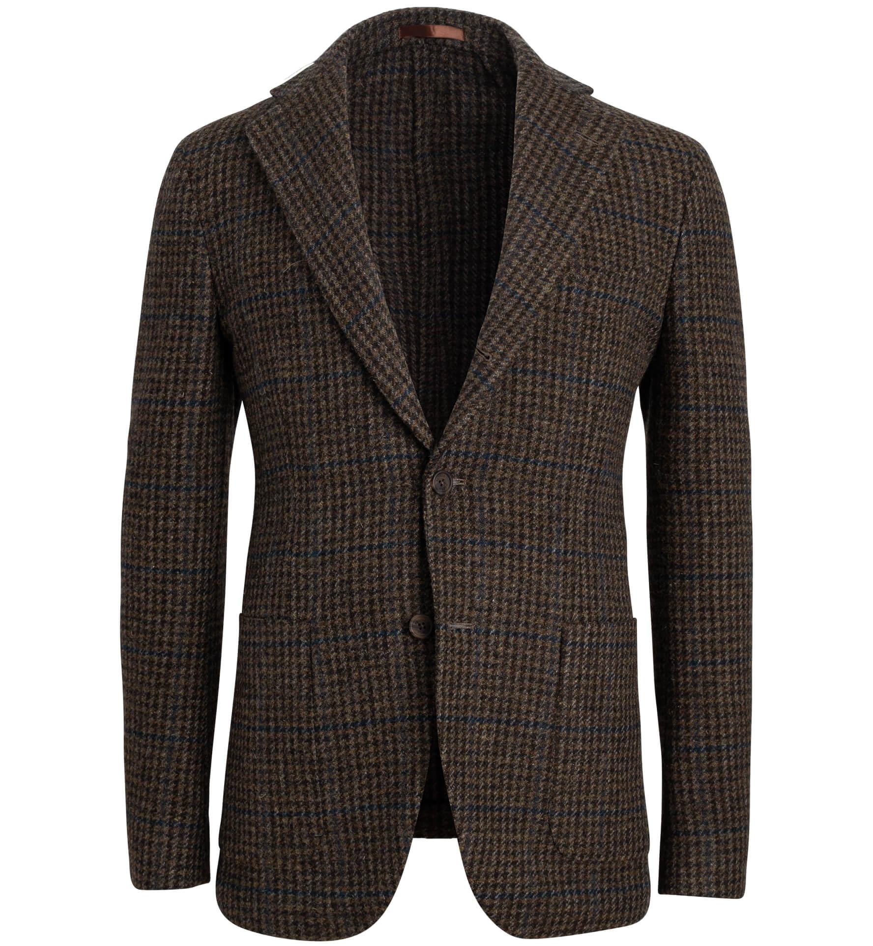 Zoom Image of Waverly  Washed Tweed Gun Check Jacket